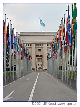 Palais des Nations, Ženeva