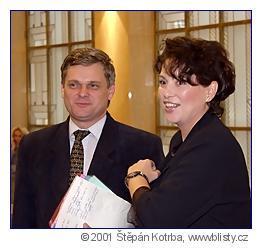 Jana Bobošíková ajejí oblíbený politik